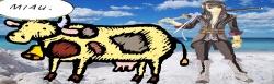 Vesperia y el chiste de la vaca